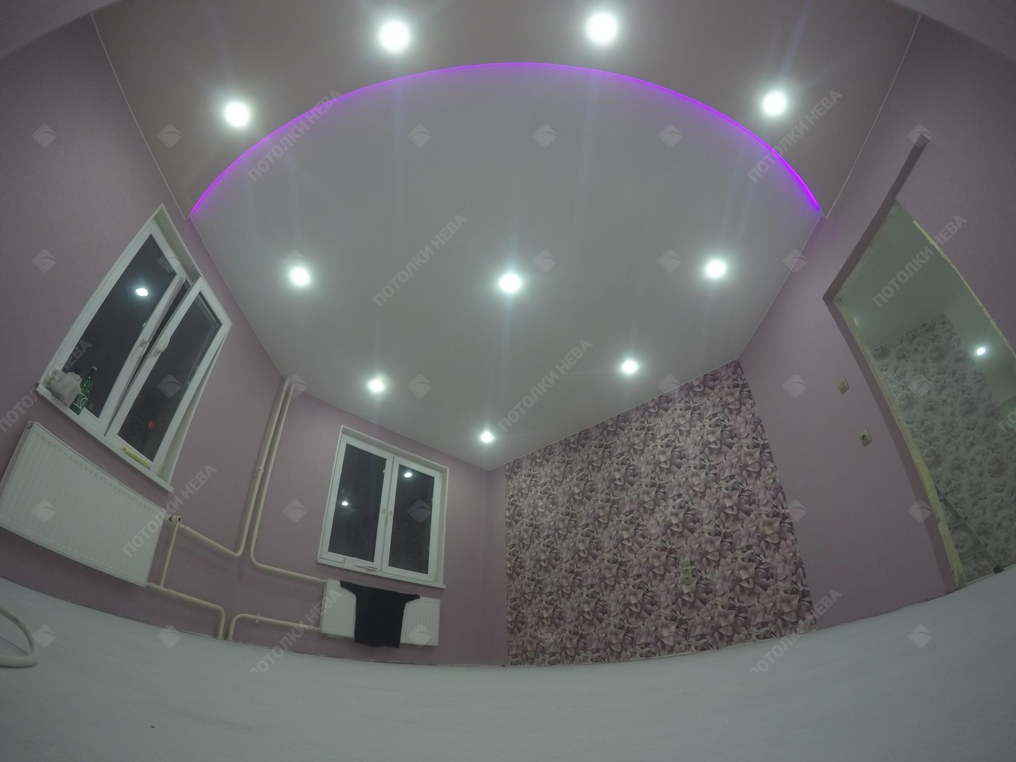 Светодиодный потолок с подсветкой